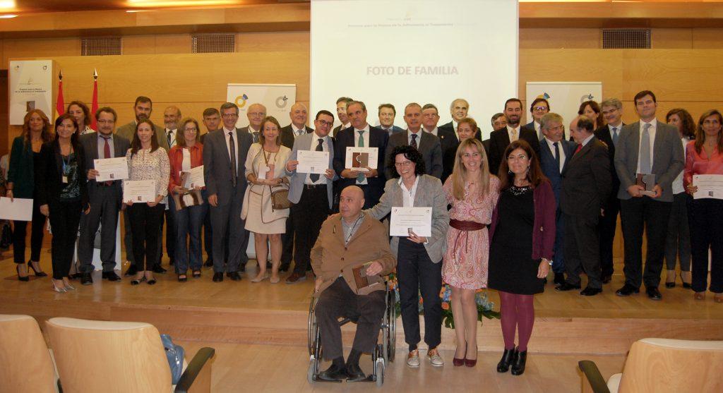 Acto de entrega I Edición Premios OAT Adherencia 2017 (ganadores y finalistas)